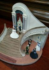 GONE WITH THE WIND TWELVE OAKS HOUSE -WITH 7 FIGURES