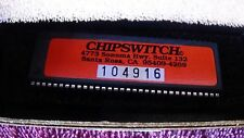 NOS NEW Chipswitch for HR2510 HR2600 President Lincoln #104916 RARE Socket Incld