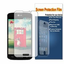 5X HD Crystal Clear Screen Protector Saver For MetroPCS LG Optimus L70 MS323