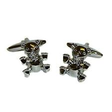 Teddy Bear Cufflinks Arctophily Formal Wedding Cruise Party Present Gift Box