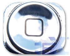 High Quality Mirror Chrome Silver Home Button for iPhone 5/5C 16GB/32GB/64GB