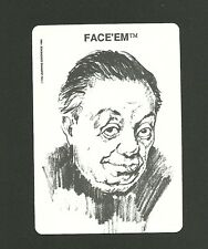 Diego Rivera Famous Mexican Painter Rebel  1989 Face 'Em Collector Card