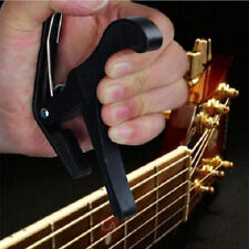 Black Quick Change Clamp Key Capo For Acoustic Electric Classic Guitar