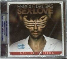 ENRIQUE IGLESIAS SEX AND LOVE DELUXE EDITION + 5 BONUS TRACKS SEALED CD NEW 2014