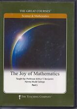 The Joy of Mathematics - GREAT COURSES 4 DVDs