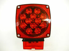 Jammy Submersible Over 80 LED Red with Red Lens Light Truck Trailer RV