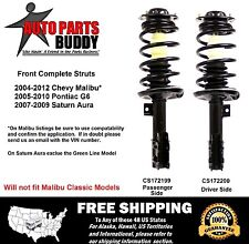 (2) Front Complete Struts Malibu, G6, Aura  Lifetime Warranty Shipping included