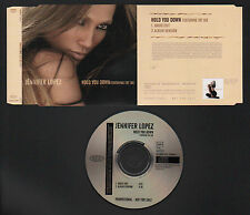 CD SINGLE PROMO NOT FOR SALE JENNIFER LOPEZ HOLD YOU DOWN feat FAT JOE 2005 EPIC
