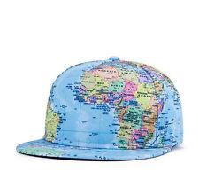Unisex Women Men Flat Baseball Hat Sport Hip-hop Bboy Snapback Caps Adjustable