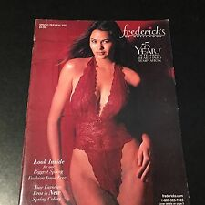 LINGERIE MAGAZINE/CATALOG FREDERICK'S OF HOLLYWOOD SPRING PREVIEW 2001