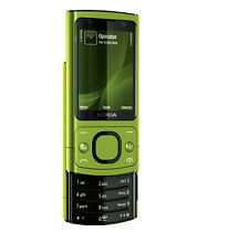 Nokia 6700 Slide Green Unlocked 3G Cell Phone Bluetooth Camer 5.0
