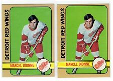 1X MARCEL DIONNE 1972 1973 Topps #18 NRMT Red Wings 72 73 Lots Available