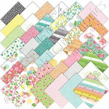 "Moda Charm Packs Sew & Sew Charm Pack Chloes Closet 42 5"" Quilting Quilt Squares"