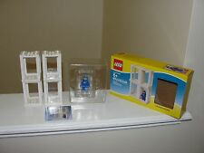 "LEGO ""MINI FIGURE DISPLAY PRESENTATION BOXES #850423 BOX & MANUAL"