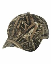 Outdoor Cap Mossy Oak Shadow Grass Garment Washed Camo Baseball Hat CGW115