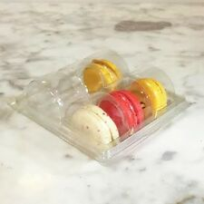 Clear Macaron Blister Box for 6 Macarons($1.4 each) - Pack of 20 Boxes