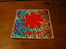 RED HOT CHILI PEPPERS !!!!!!!!!EURO PROMO STICKER!!!!!!