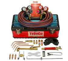 BRAND NEW TESUCO OXYGEN ACETYLENE GAS WELDING AND CUTTING KIT GWKOA