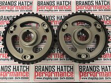 Ford Sierra Escort RS YB Cosworth Vernier Cam Adjustable Pulleys BRONZE BLK PAIR
