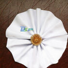 12 Pack x White Restaurant Dinner Bar Party Wedding Party Bar Cloth Napkin Decor