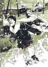 Ex-libris Black Op de Hugues Labiano, offset neuf numéroté et signé