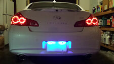 BLUE LED License Plate Lights Honda Civic EG 92-95 1992 1993 1994 1995