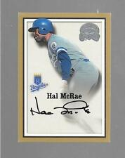 2000 Greats of the Game - HAL McRAE - Autograph - ROYALS