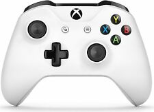 Microsoft Xbox One S Wireless Controller with 3.5mm Headphone Jack White -