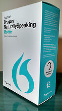 Nuance Dragon Naturally Speaking 13 13.0 Home Speech Recognition w/ Headset Mic