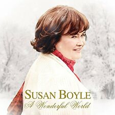 SUSAN BOYLE CD - A WONDERFUL WORLD (2016) - NEW UNOPENED - SONY RECORDS