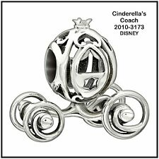 2010-3173, CINDERELLA'S COACH, DISNEY COLLECTION, Chamilia Sterling Silver Bead