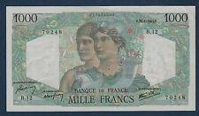 FRANCE - 1000 FRANCS MINERVE & HERCULE Fay n° 41. 2 du 26-4-1945.D en TTB+  B.12