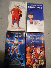 Four of the BEST vintage VHS Christmas movies- Comical and Cartoons!