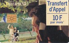 France télécarte 50 Transfert d'appel  10F par mois