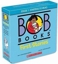 Bob Books: First Stories by Lynn Maslen Kertell (2015, Paperback)