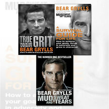 True Grit,Mud,Sweat and Tears,A Survival Guide for life,  3 Books collection set