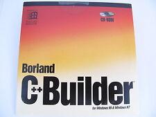 Borland C++ Builder Windows 95 & Windows NT Scalable Database FREE SHIPPING