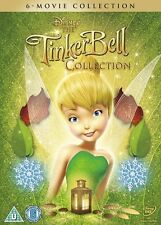 The Tinker Bell 6 Movie Collection Tinkerbell Region 2 New DVD