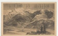 Switzerland, Val d'Illiez et Dents du Midi Postcard, B211