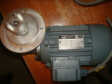 RGM Ruhrgetriebe Motor w/ right angle reducer 5:1  .12 Kw 220V Model#  T 63 A 4