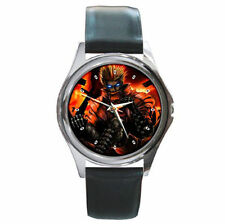 Anime Blue Eyes Tri GUn Vash the stampede leather watch