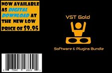 VST Gold Virtual Instruments & Plugins Bundle for Windows PC DIGITAL DOWNLOAD