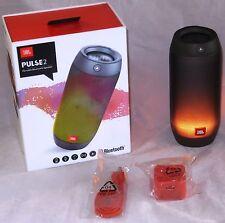 JBL PULSE 2 Portable Splashproof Wireless LED Speaker W/ Light Show - BLACK