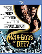 War-Gods of the Deep Blu-ray Disc 2015 Vincent Price Tab Hunter Tomlinson NEW