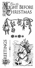 Graphic45 (6) Cling Stamps-'TWAS THE NIGHT BEFORE CHRISTMAS #1