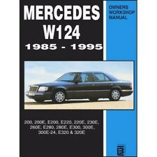 Mercedes W124 Owners Workshop Manual 1985-1995 book paper