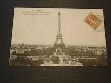 CPSM Paris La Tour Eiffel et le Champ-de-Mars