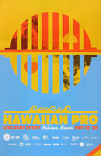 New Mint 2015/16 Reef Hawaiian Pro Haleiwa Hawaii Surfing Contest Art Poster