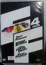 DVD cofanetto FAST & furious 4 FILM
