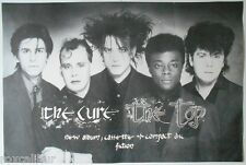 THE CURE The Top Very Rare Original 1984 Official UK Record Company POSTER
